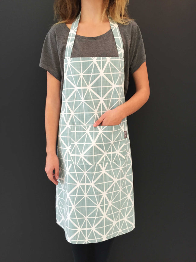 Facet Duck Egg Apron
