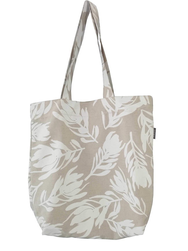 Conebush White Shopper Bag