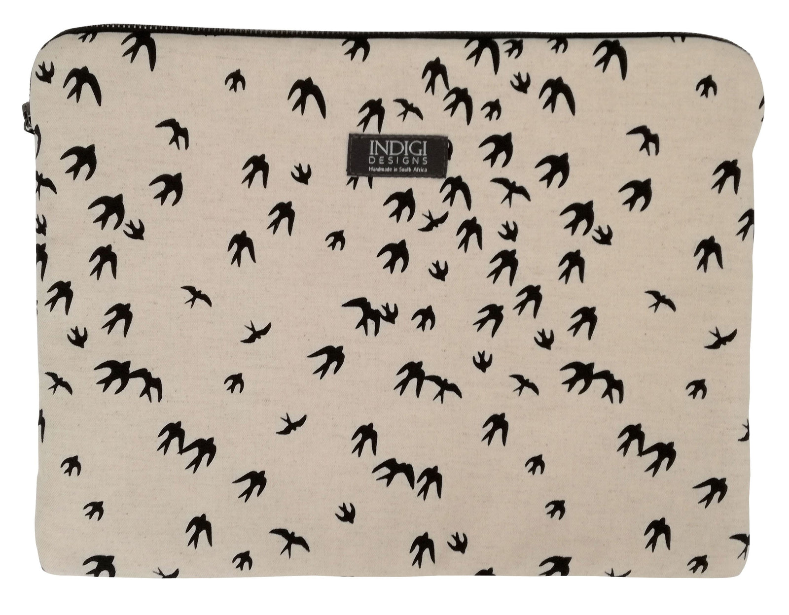 Birds Black Laptop Sleeves