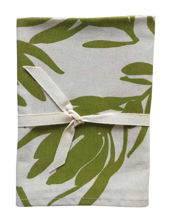 Conebush Olive Tea Towel