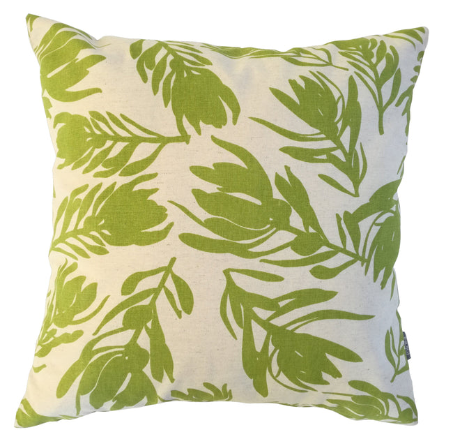 Conebush Olive Cushion Cover
