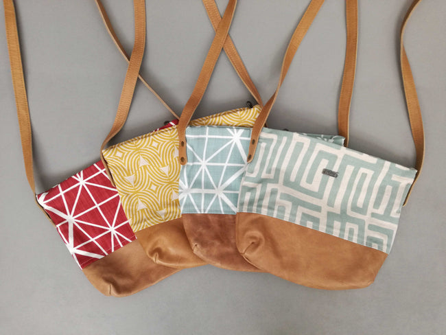 Day Bags on Sale with Hazelnut Leather