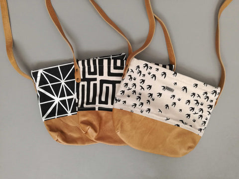Day Bags on Sale with Faux Mushroom Leather