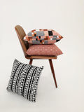 Tribal Stripe Black Cushion Cover