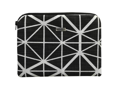 Dogon Weave Black Laptop Sleeve 15 Inch