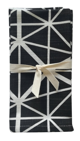 Dogon Weave White Napkin Set