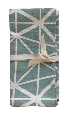 Birds White Napkin Set