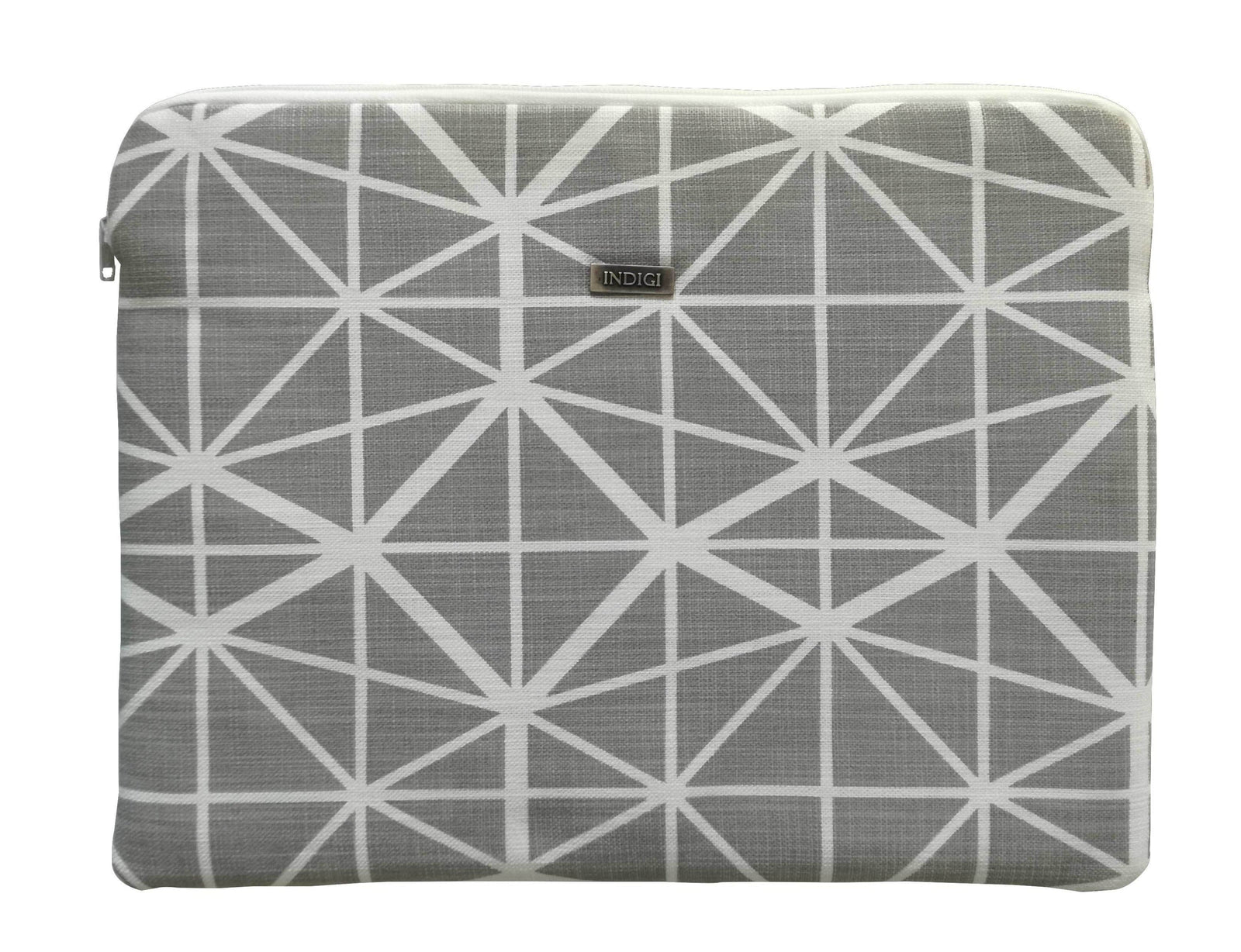Facet Grey Laptop Sleeve 13 Inch