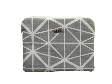 Facet Grey Ipad Sleeve