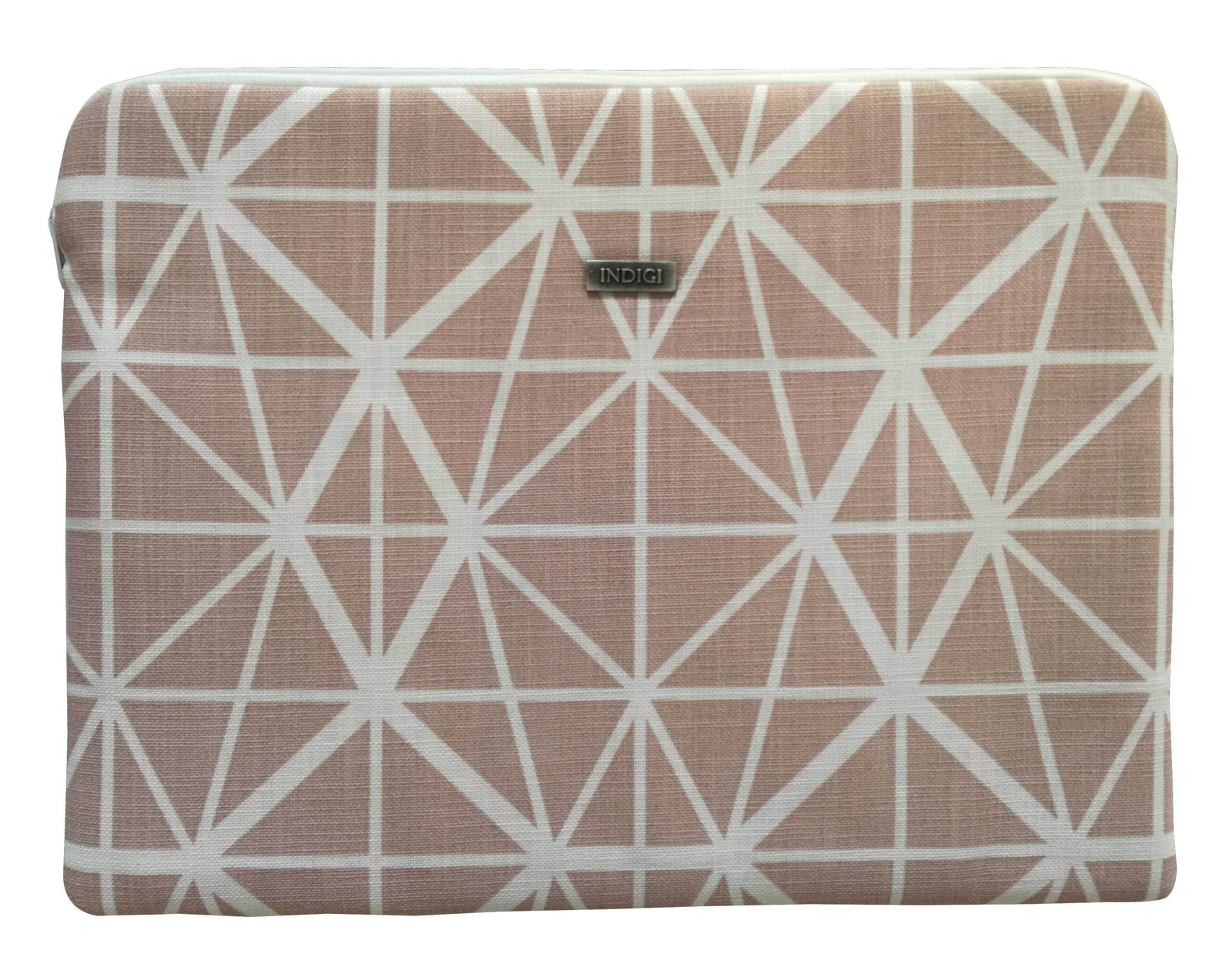Facet Nude Pink Laptop Sleeve 13 Inch