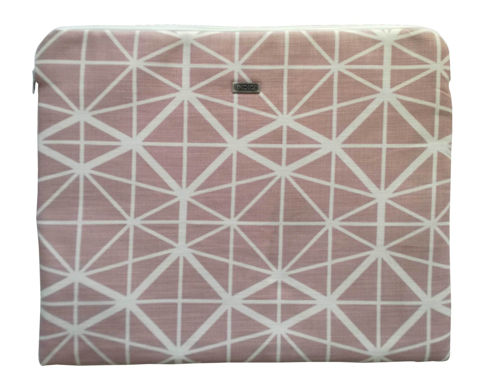 Facet Nude Pink Laptop Sleeve 15 Inch