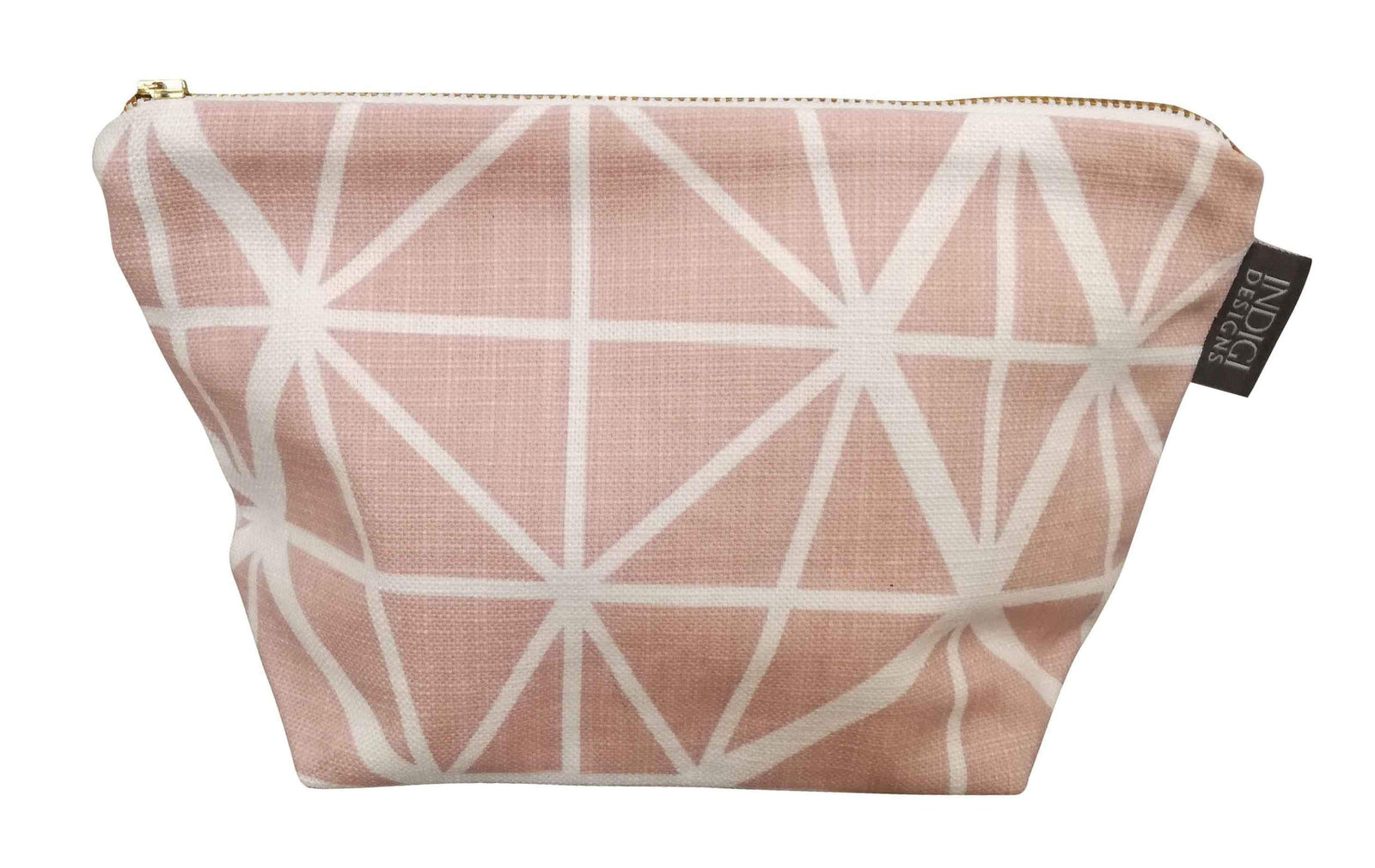 Facet Nude Pink Cosmetic Bag Large