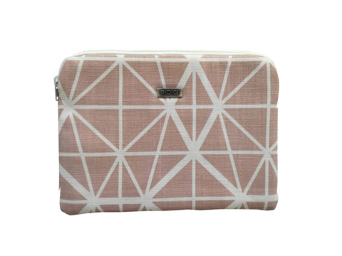 Facet Nude Pink Ipad Sleeve