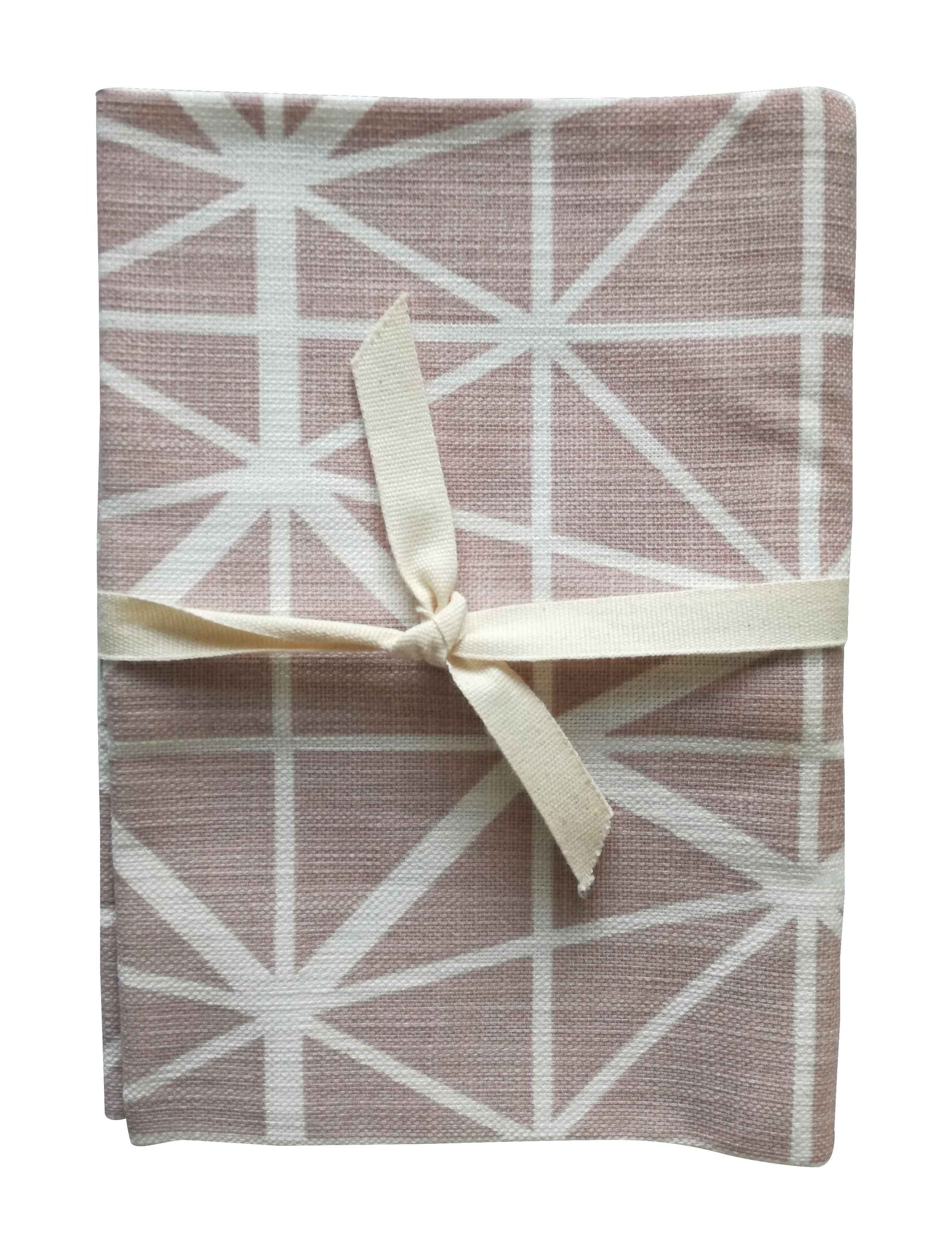 Facet Nude Pink Tea Towel