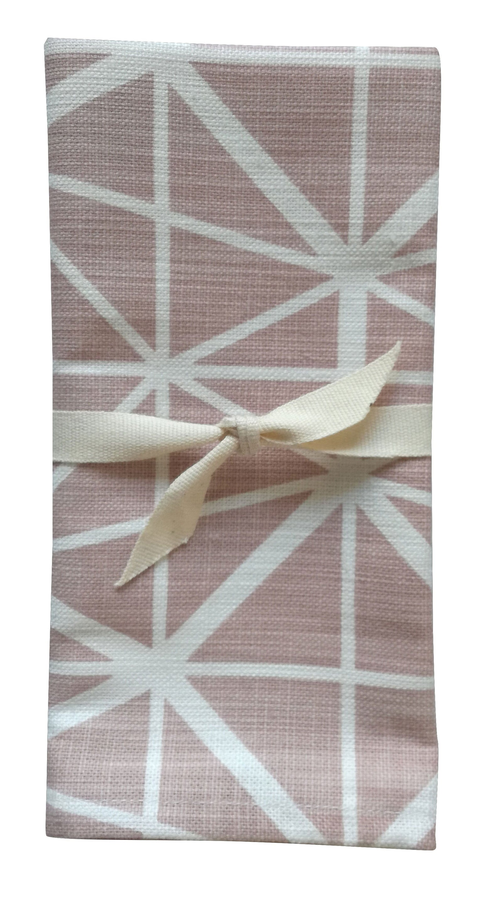 Facet Nude Pink Napkin Set