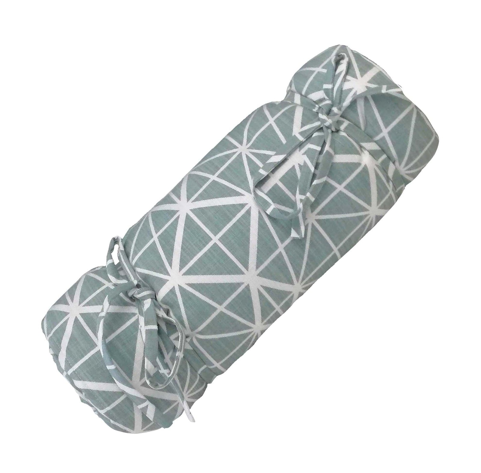 Facet Duck Egg Picnic Blanket