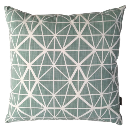 Facet Grey Cushion Cover