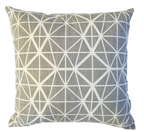 Facet Duck Egg Cushion Cover