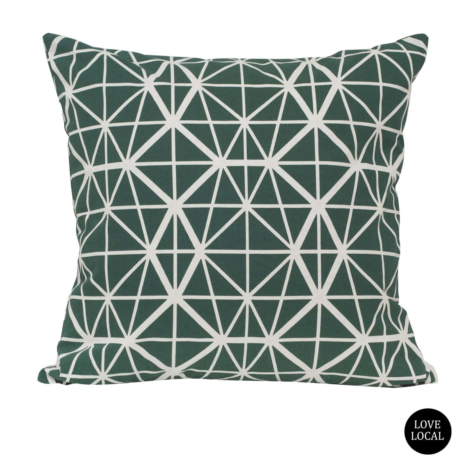 Facet Emerald Cushion Cover