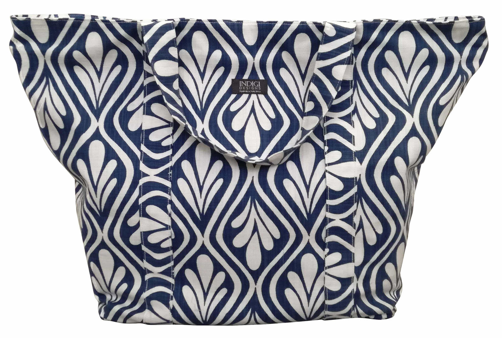Leisure Bag Henna Leaves Indigo
