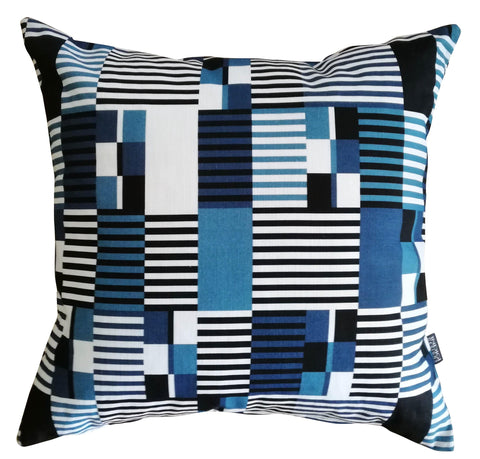 Lilium Indigo Cushion Cover