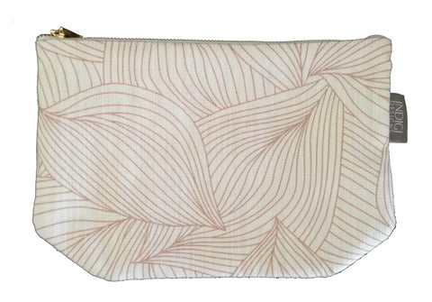Dogon Weave White Pouch Small