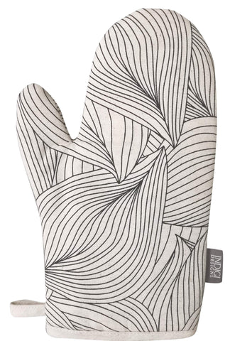 Facet Duck Egg Oven Glove