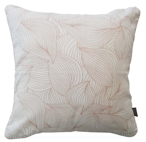 Henna Leaves Duck Egg Cushion Cover