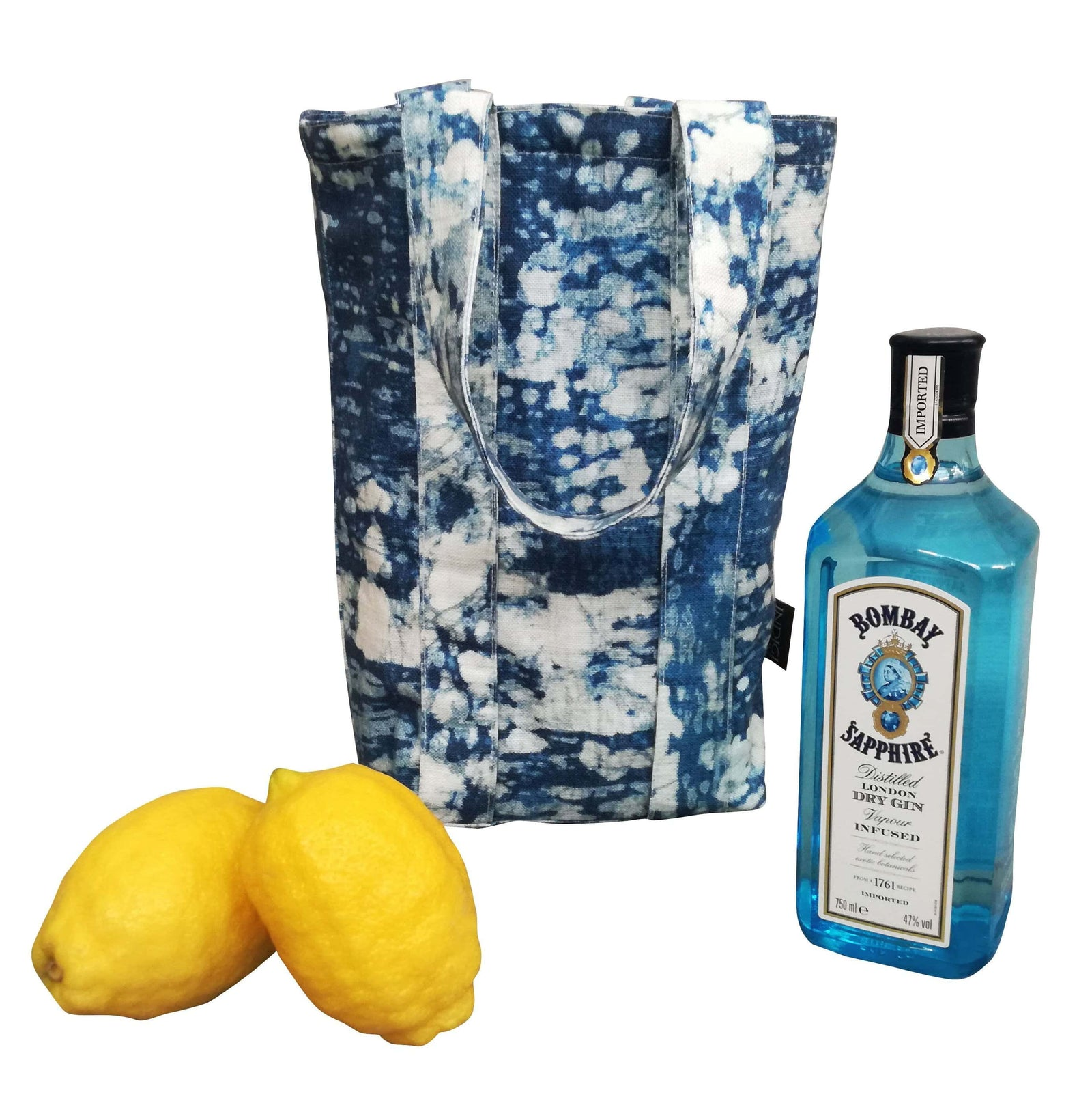 Drinks Carrier - Digital Marble Fabric