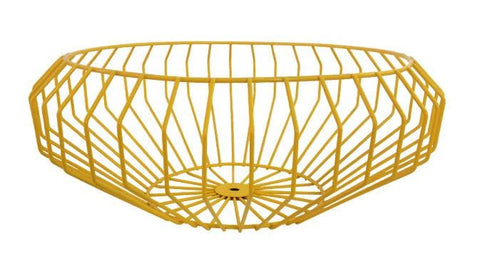 Segment Wire Bowl in Gold