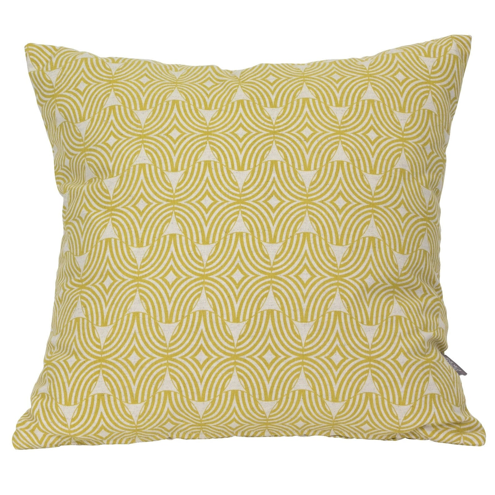 Shields Ochre Cushion Cover