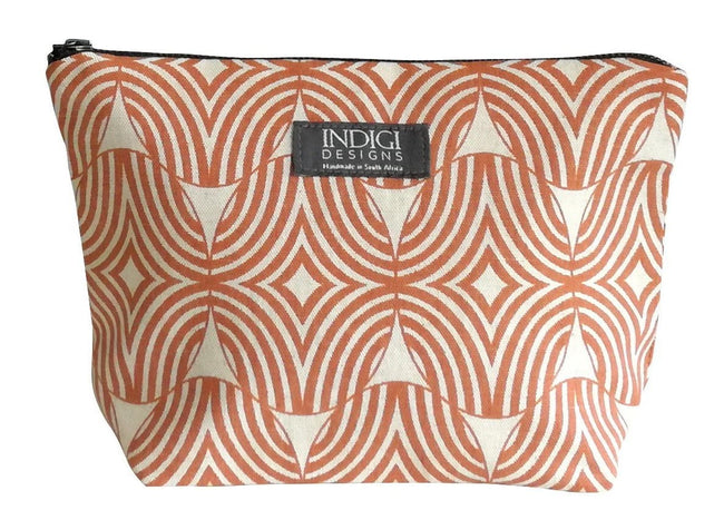 Shields Terracotta Cosmetic Bag