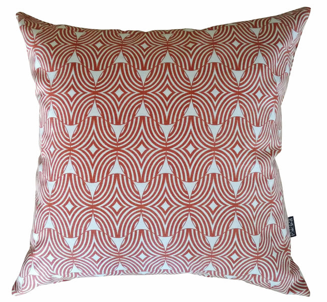Shields Terracotta Cushion Cover
