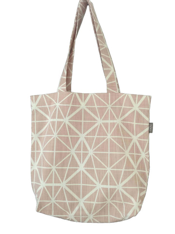 Bemba Blocks Ochre Shopper Bags