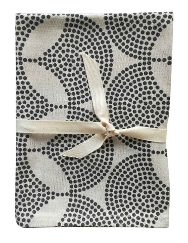 Conebush White Tea Towel