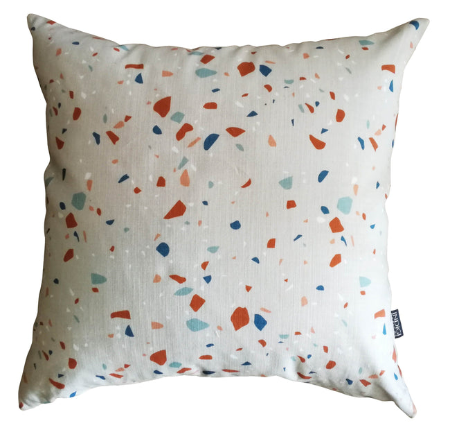 Digital Terrazzo Pebble Cushion Cover