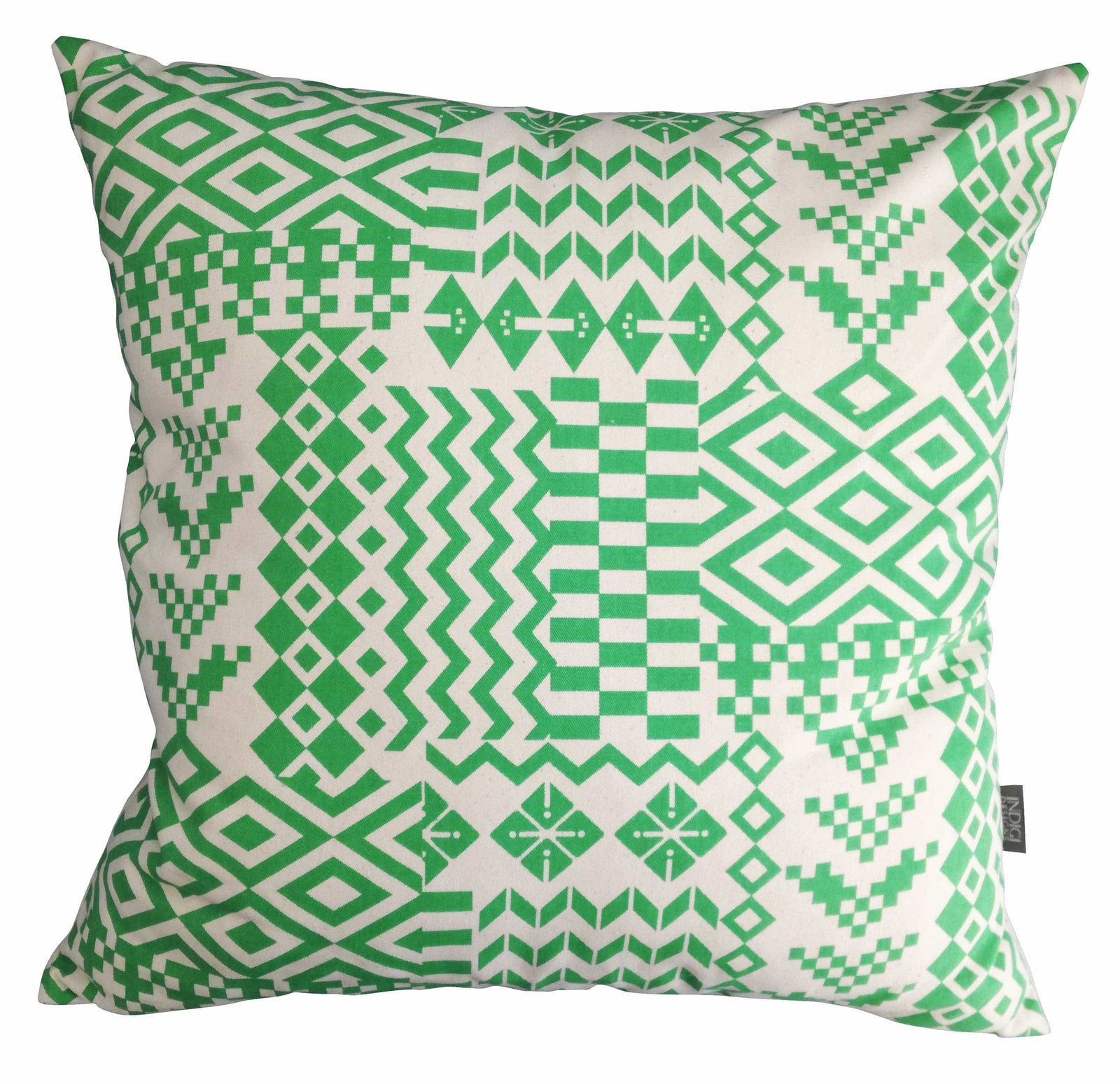 Tshanga Palm Green Cushion Cover