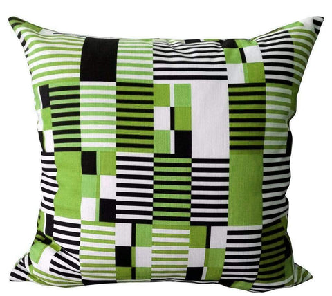 Digital Kente Atlantic Cushion Cover