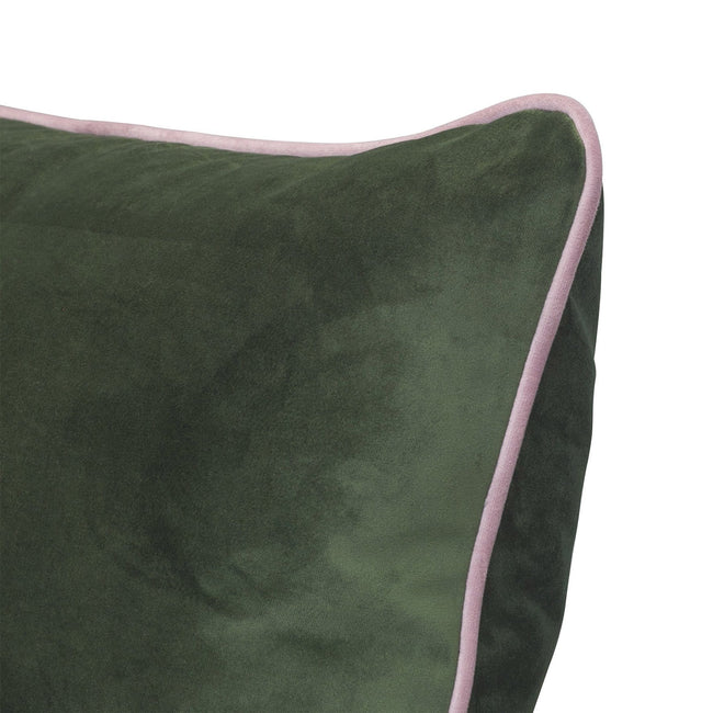 Oblong Velvet with piping 50cm x 90cm