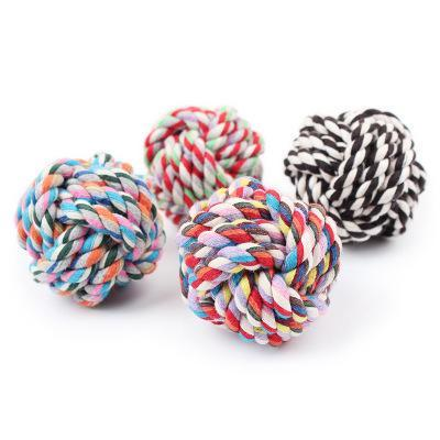 Twisted Rope Ball S/M/L Dogs