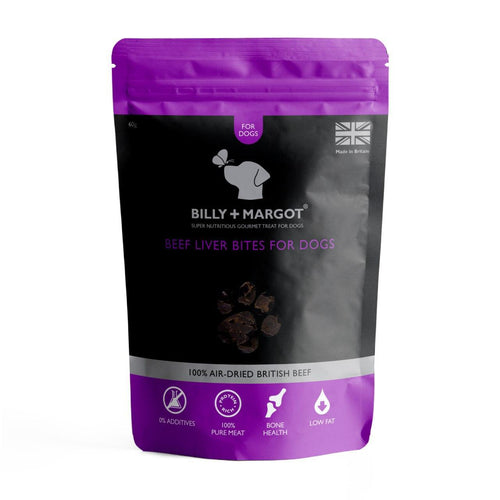 Billy + Margot Beef Liver Bites 60g
