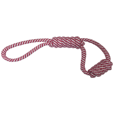 Braided Rope with Twisted Handle and Loop  S/M Dogs