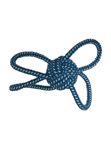 Butterfly Rope Ball S/M Dogs