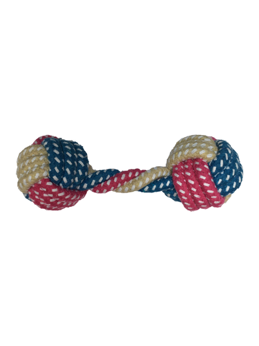 Dumbbell Cotton Rope S/M/L Dogs