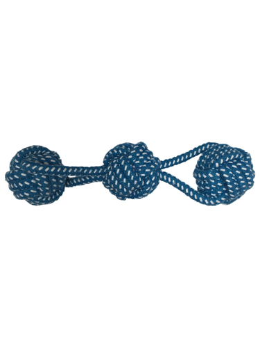 Rope Triple Ball M/L Dogs