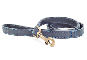 Timberwolf Leather Lead Blue