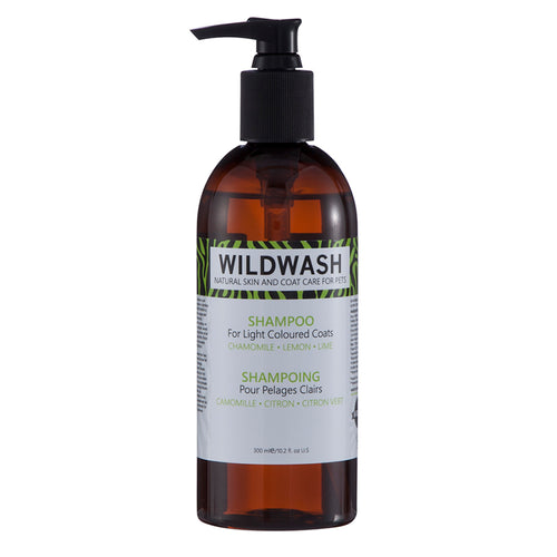 WildWash PRO Shampoo for Light Coloured Coats 300ml