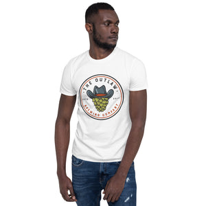 Outlaw Logo Front Color Short-Sleeve Unisex T-Shirt - available in 5 colors