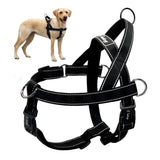 Quick Fit Custom Fit Adjustable Dog Harness No Pull Dog Harness Reflective Front Clip Quick Control Pet Vest for Medium Large-Ma Petite Animalerie