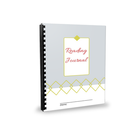 Reading Journal - red LIMITED TIME PRICE